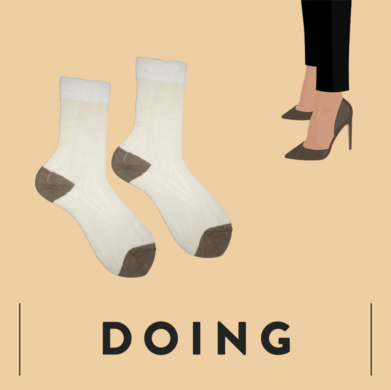 Distributore calze - Doing