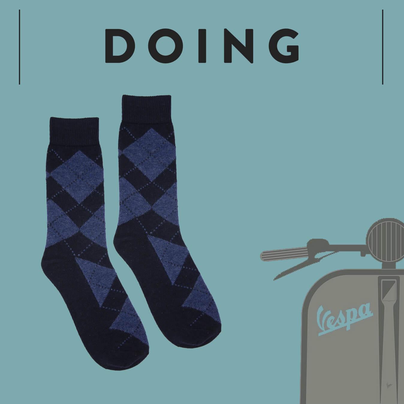 Distributore calze uomo - Doing