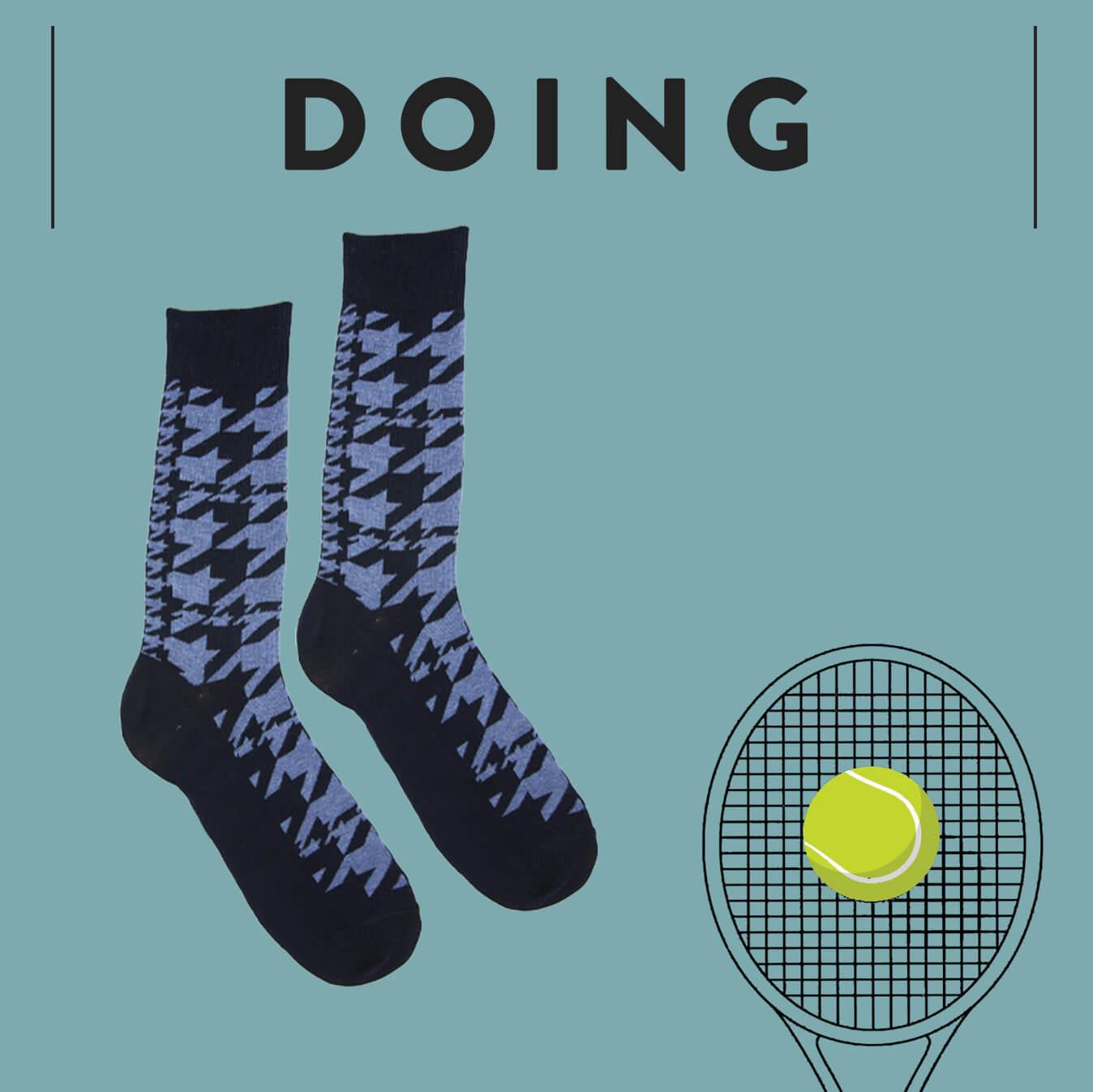 Distributore calze righe uomo - Doing