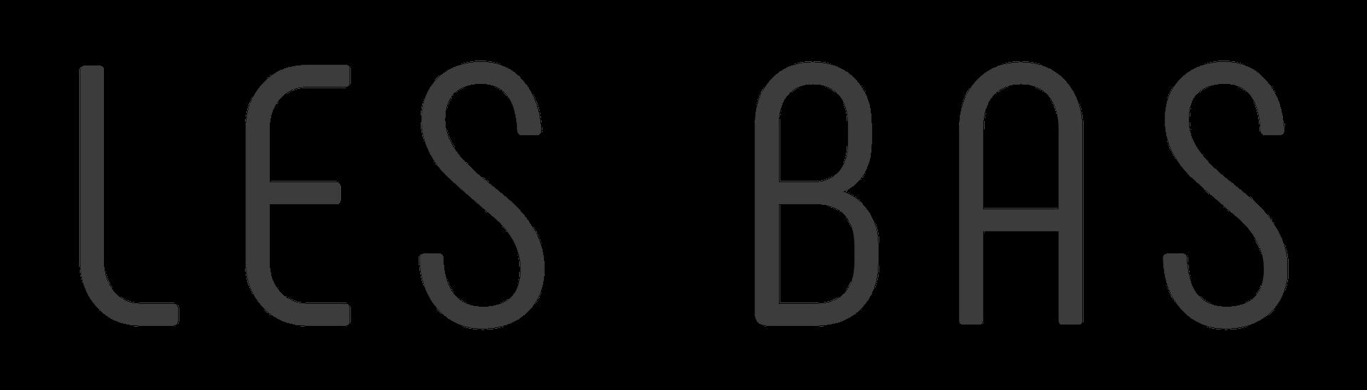 Scritta Logo LES BAS SRL